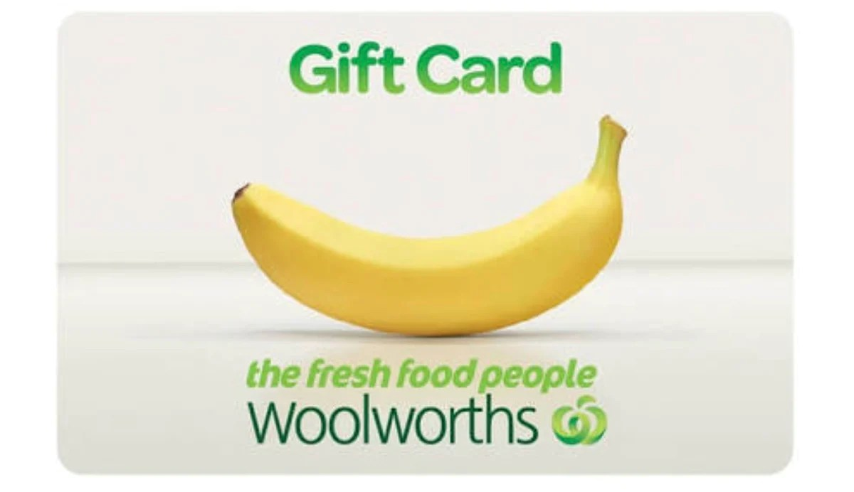 Gift Card Woolworths 100 Woolworths Shopping Gift Cards