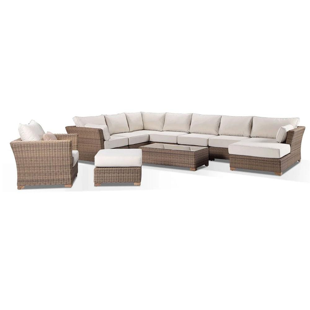 Coco Lounge Package D Huge Corner Chaise Lounge With Arm Chair