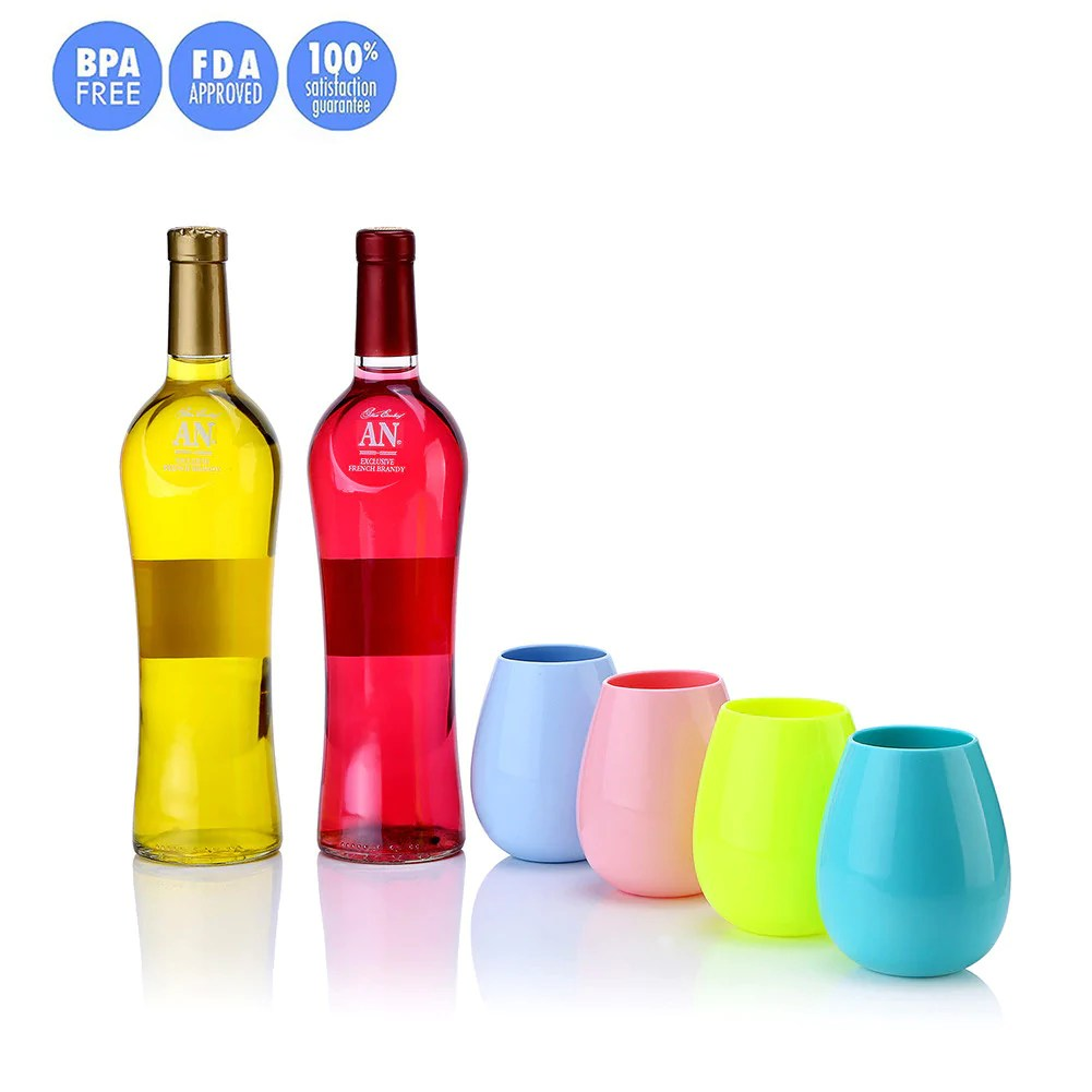 Flagrant Silicone Wine Glasses Unbreakable Stemless Fable Rubber Wine Cups Wholeset Silicone Wine Glasses Unbreakable Stemless Fable Rubber Wine Cups Custom Rubber Wine Glasses Rubber Wine Glasses Bed bark post Rubber Wine Glasses