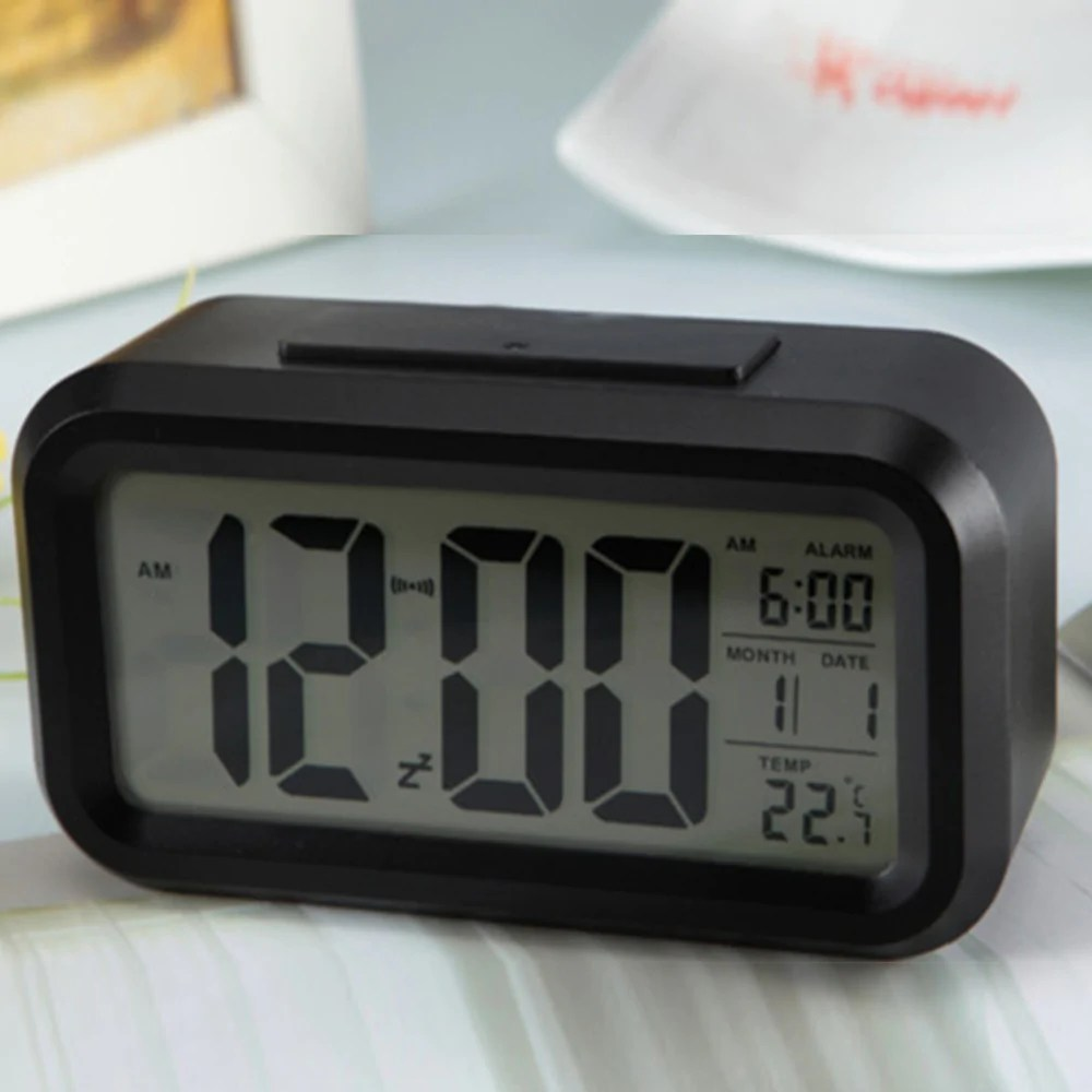 Digital Clock For Sale Sale Digital Snooze Led Alarm Clock Backlight Time Calendar Temperature Tools M1