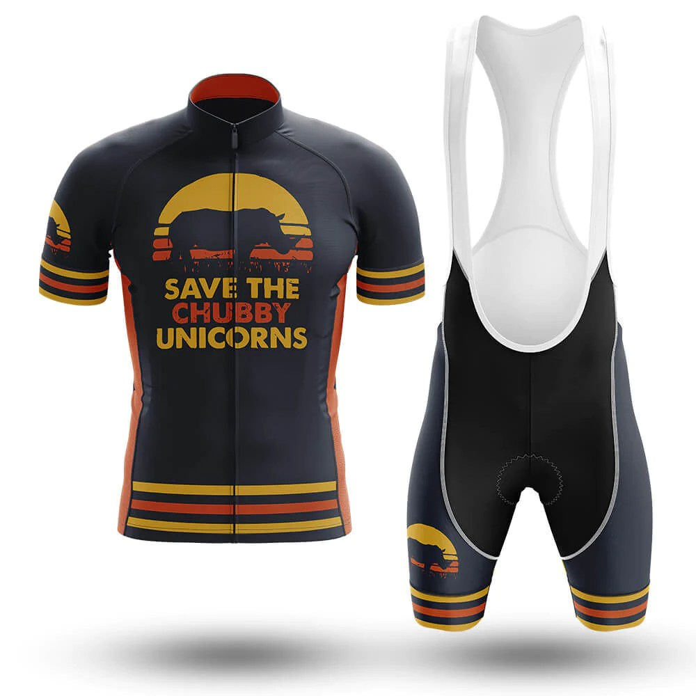 Cycling Clothing Save The Chubby Unicorns Cycling Kit Global Cycling Gear