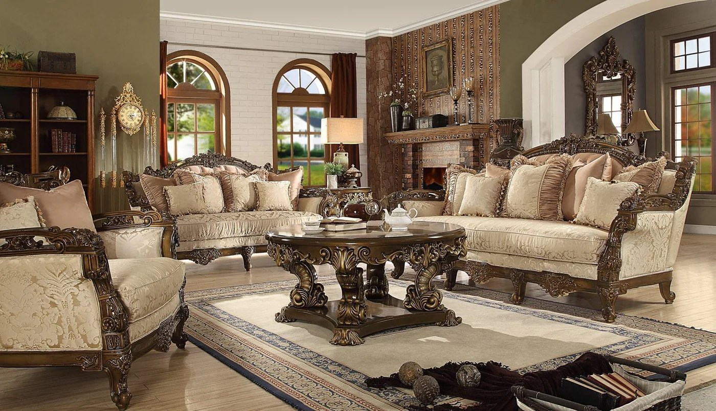 Sofa Sets In Living Room Homey Design Hd 1609 Sofa Set
