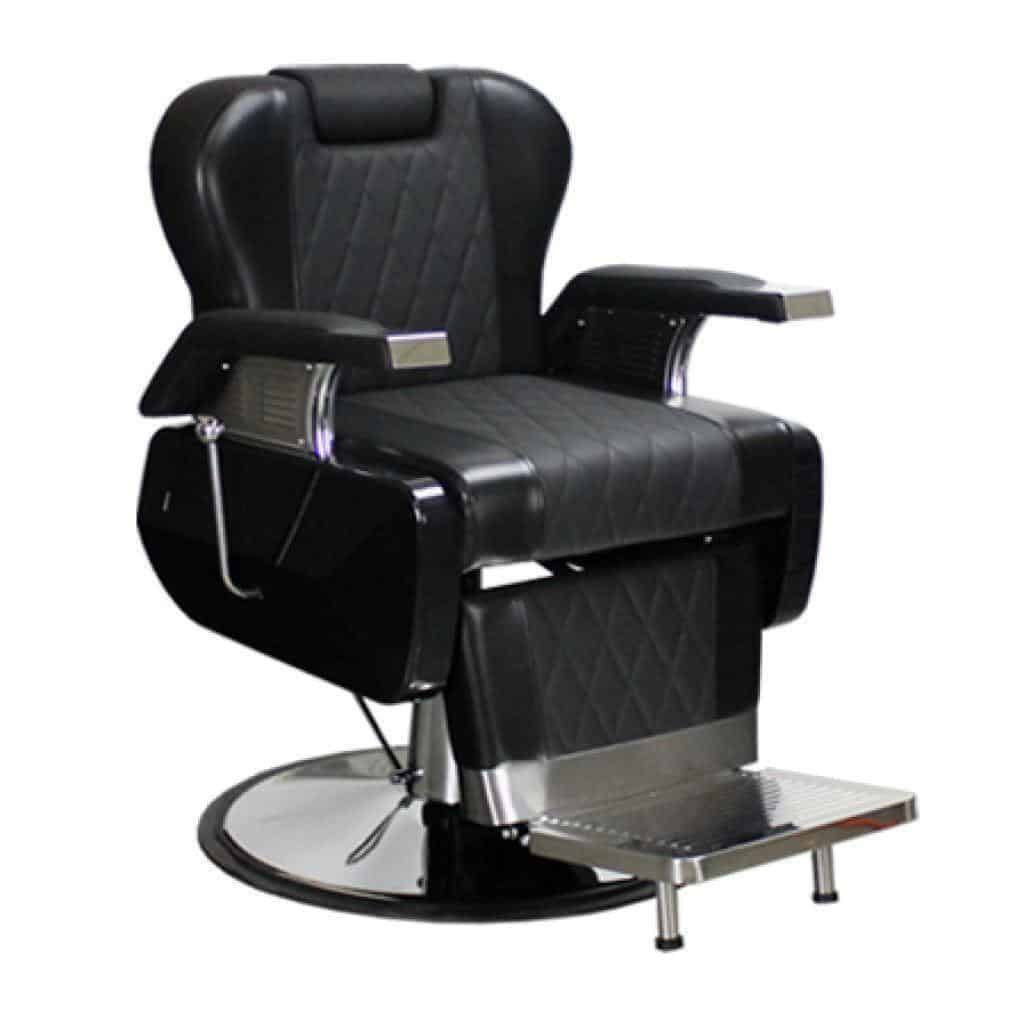 Decosalon Harrington Barber Chair Black Deco Salon