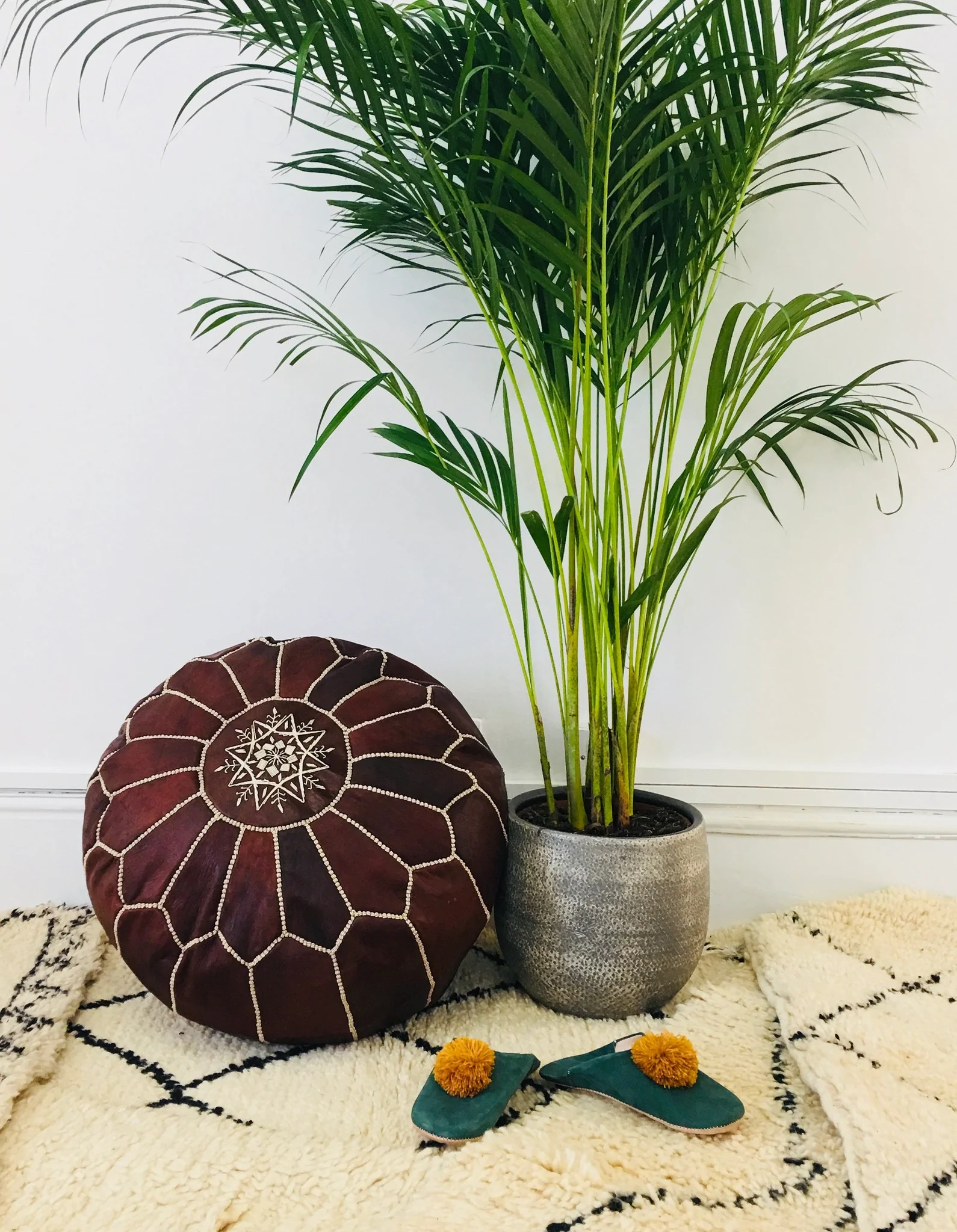 Moroccan Leather Pouf Design Sit Down Pinterest Leather Moroccan Leather Pouffe Chestnut Ambling Traders