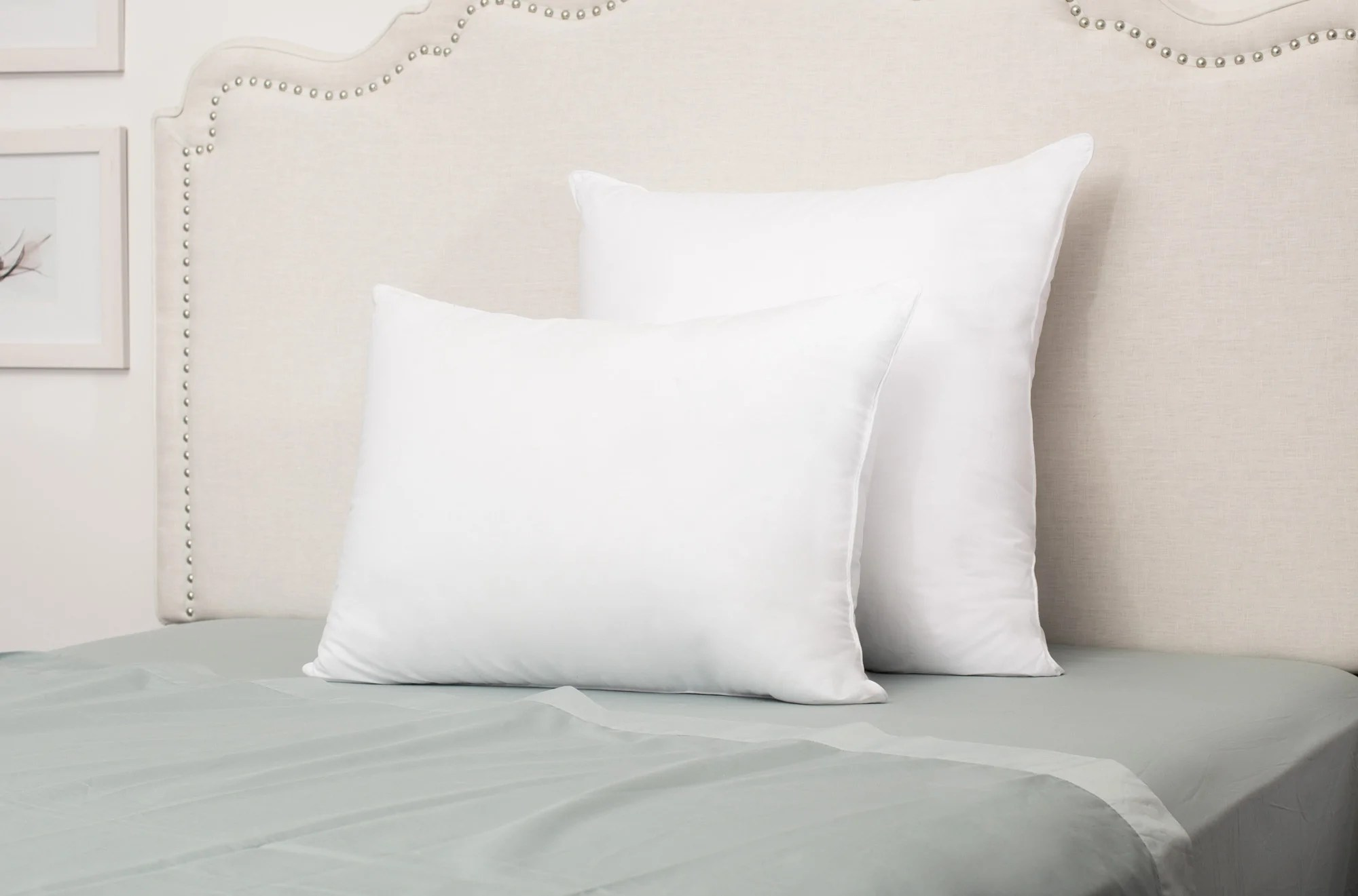 Standard Bed Pillows What Are Euro Shams Euro Pillows Crane Canopy