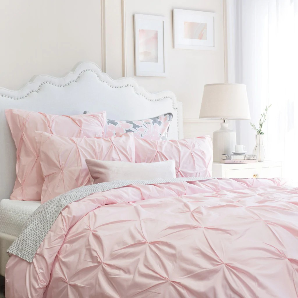 Pink Duvet Cover Blush Duvet Cover The Valencia Pink Crane Canopy