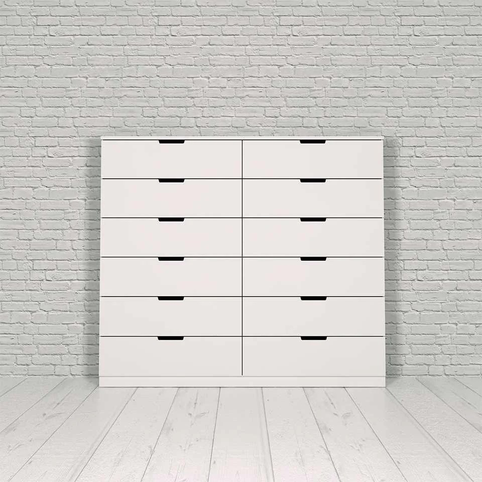 12 Drawer Chest Of Drawers Nordli Chest 12 Drawer
