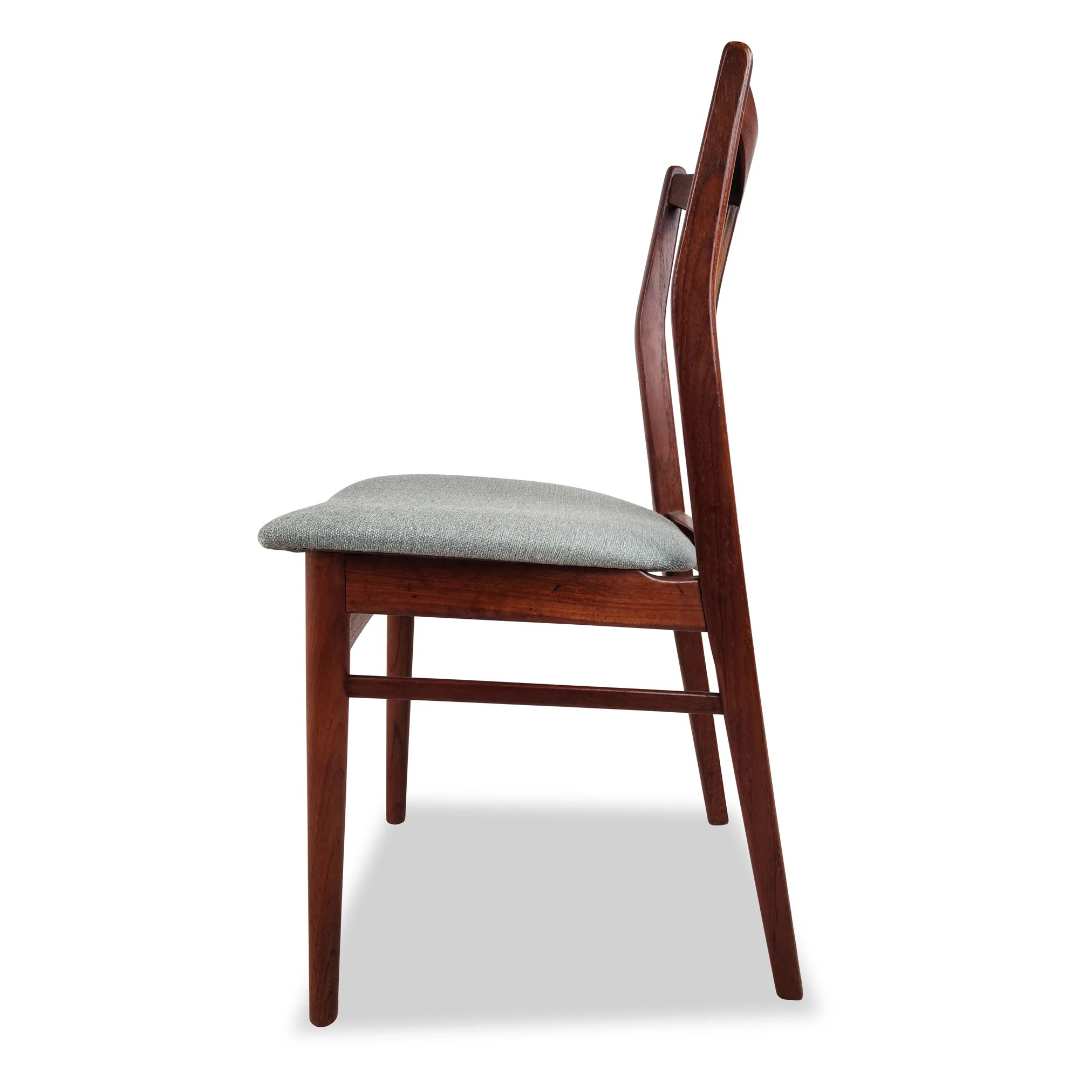Teak Dining Chairs By Henning Sorensen Decade Five Furniture Co