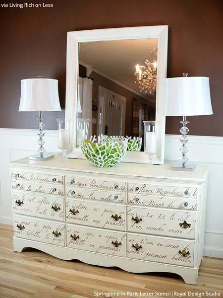 Pintura Ala Tiza Chalk Paint Write On! 10 Amazing Furniture Painting Ideas With Letter
