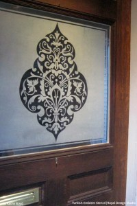 DIY Privacy Screens Made Pretty with Stencils, Paint ...