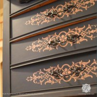 Furniture Stencils | Micah Classic Panel Stencil | Royal ...