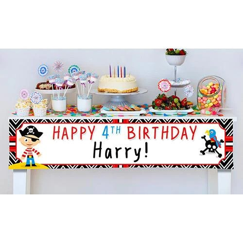 Birthday Banner Officeworks Personalised Birthday Banners | Party Banners