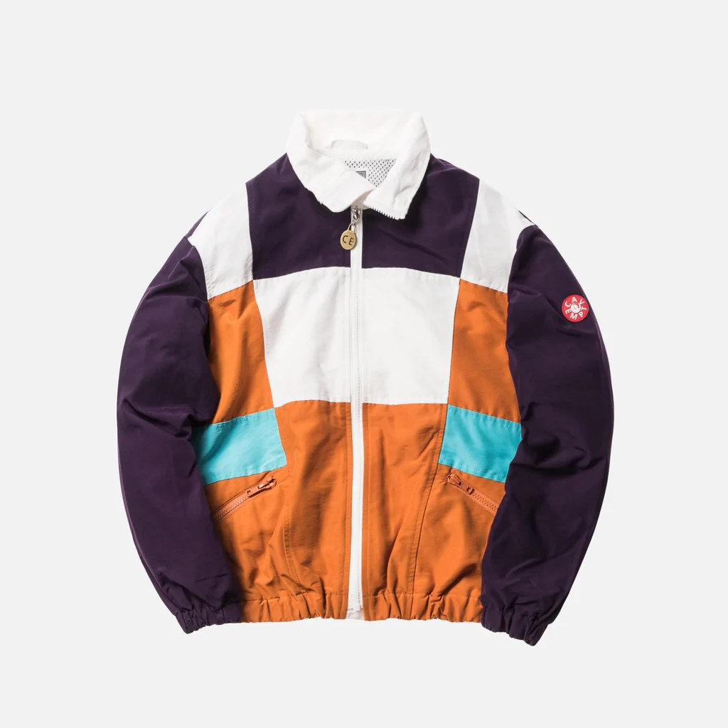 Cav Empt Training Jacket 5 Purple Kith - Cav Empt