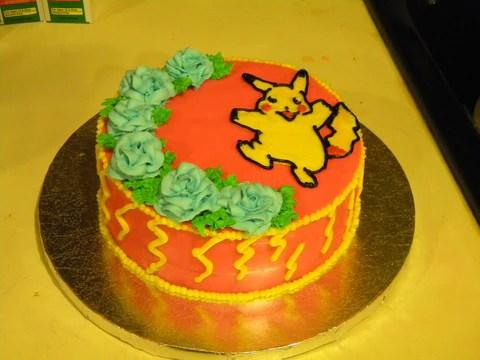 Pikachu Cake Twisted Treats