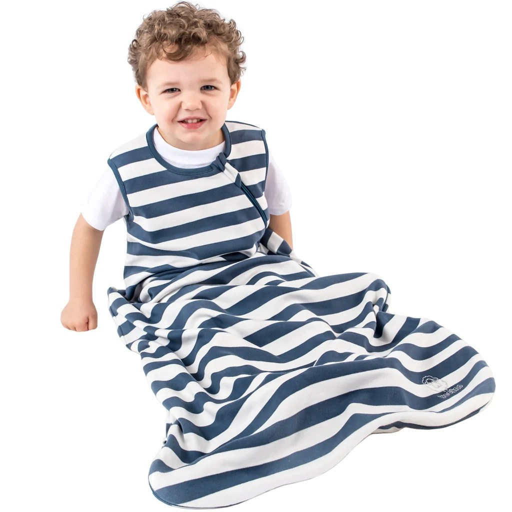 Cotton Baby Sleeping Bag Woolino Organic Cotton Baby Sleep Bag Sack Infant Sleeping Bag Wearable Blanket 3 Years Navy 18 36 Months