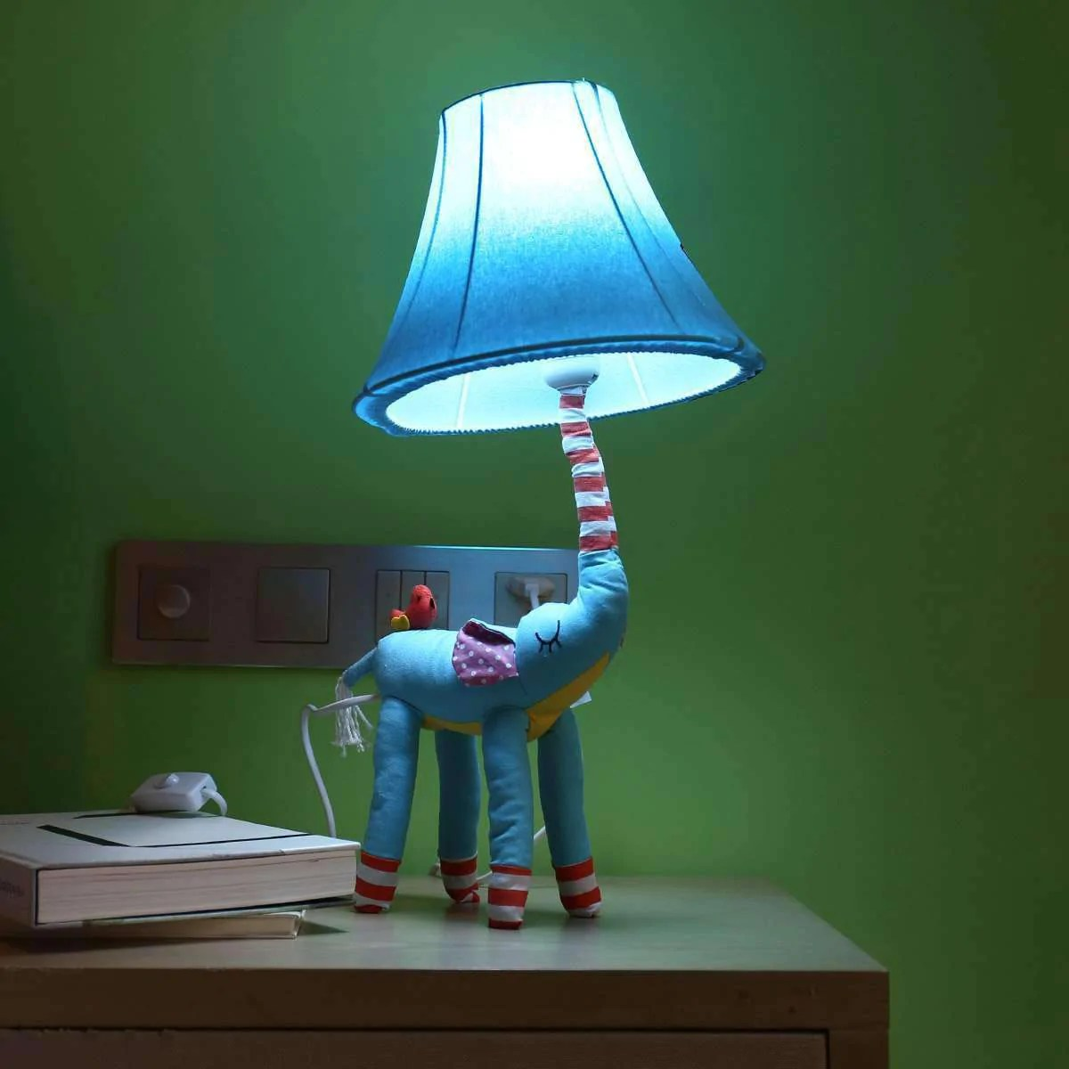 Animal Lamp For Nursery Decorative Elephant Table Lamp Nursery Room Table Night Lamp