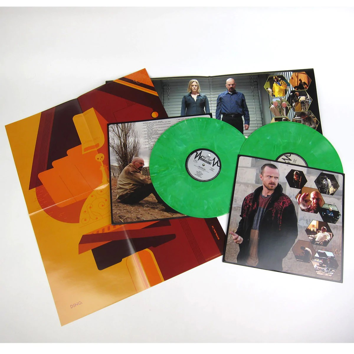 Vinylboden Bad Dave Porter Breaking Bad Ost Vol 2 Green Vinyl Free Poster Vinyl 2lp