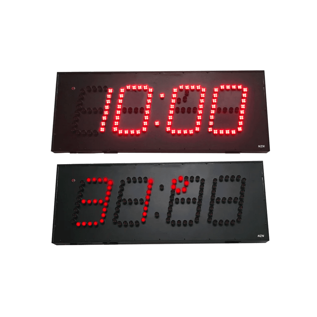 Digital Clock Nzn 30cm Led Digital Clock Outdoor