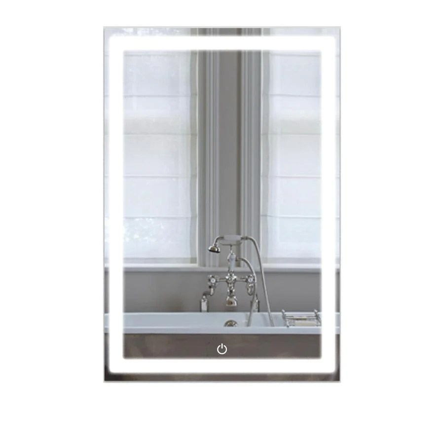 Led Bathroom Lighted Mirror 24 Inch X 36 Inch Lighted Vanity Mirror Includes Defogger Ivanees
