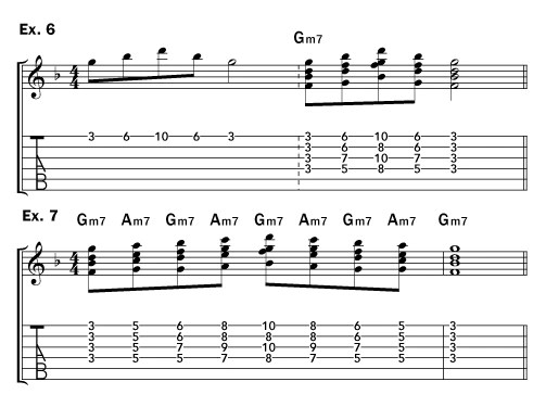Harmonize A Melodic Line With Block Chords Acoustic Guitar