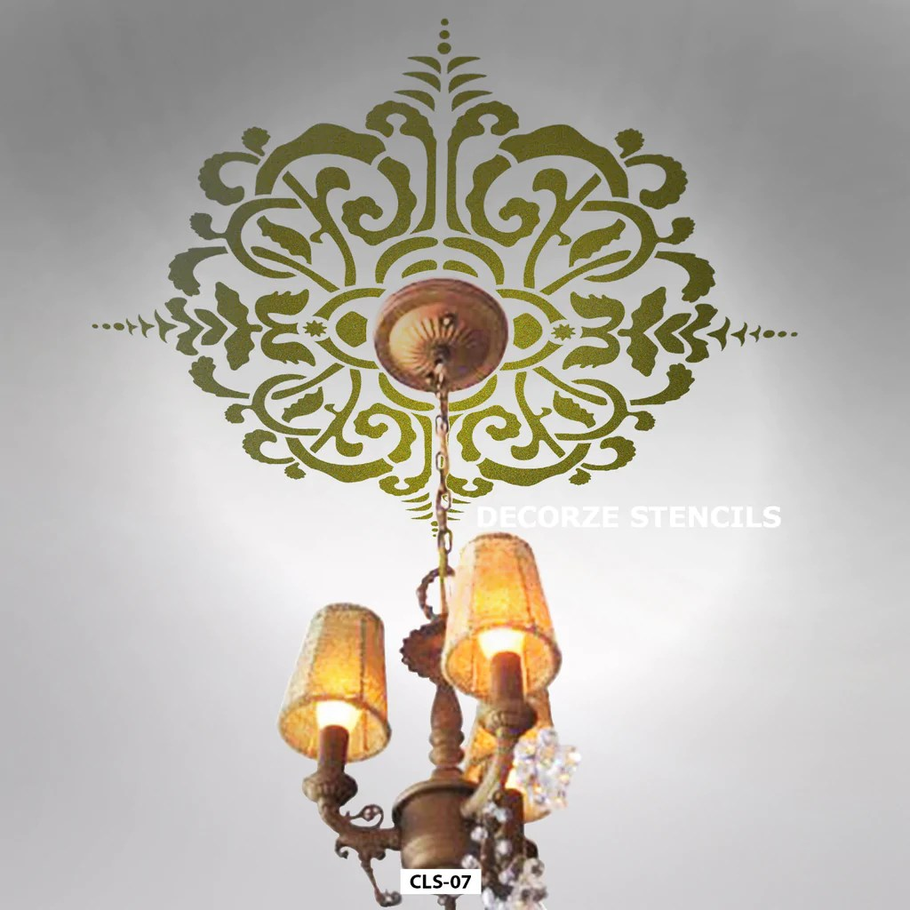 Ceiling Design Online Online Shopping India Shop Online For Wall Stencils Wall Painting