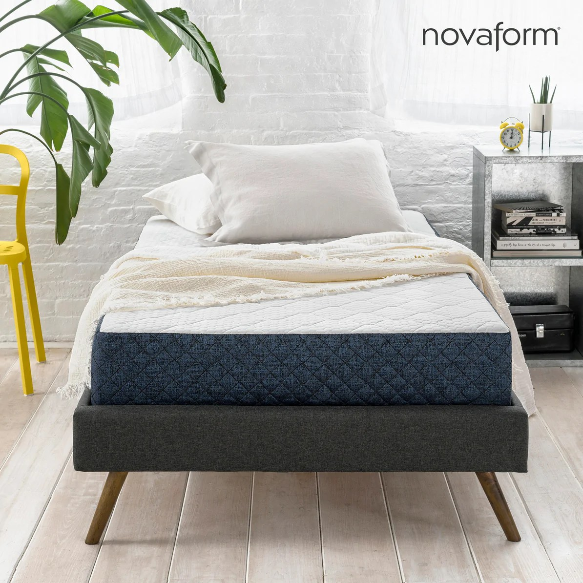 Bedroom Mattress 8 Gel Memory Foam Mattress Twin