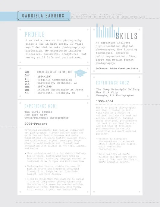 stars black resume template