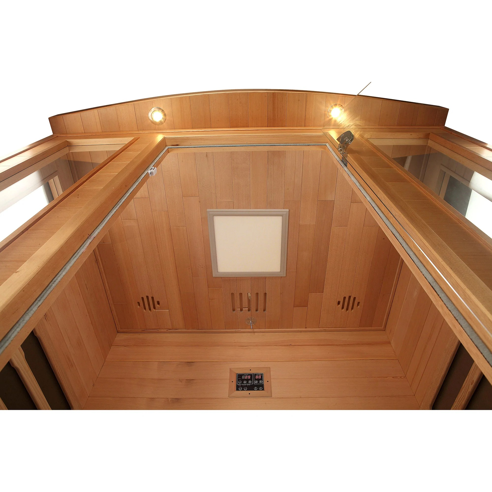 Sauna Led Banff Sauna Far Infrared With Carbon Heaters By Canadian Spa