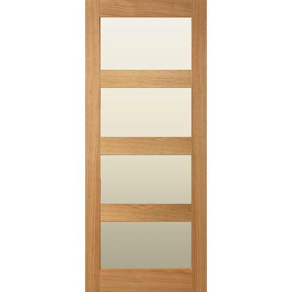 Internal door interior door solid oak shaker doors