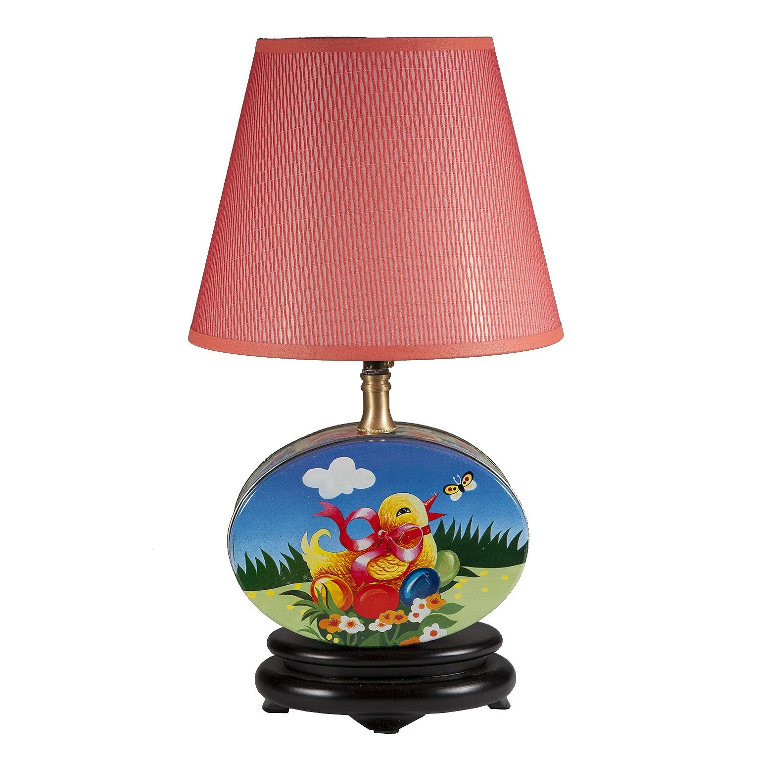 Lamps For Baby Nursery Vintage Nursery Baby Chick Tin Upcycled Lamp