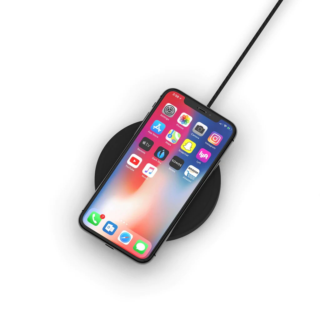 Iphone Cordless Charger Nightpad Wireless Charger Elevationlab
