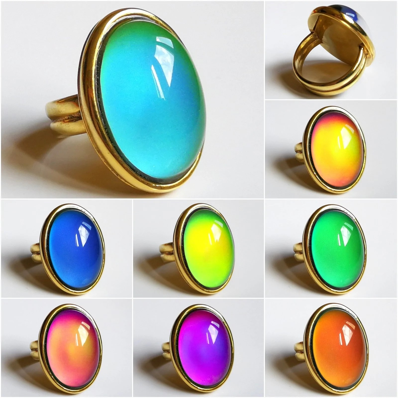 Mood Ring German Quality Premium Class Sterling Silver 925