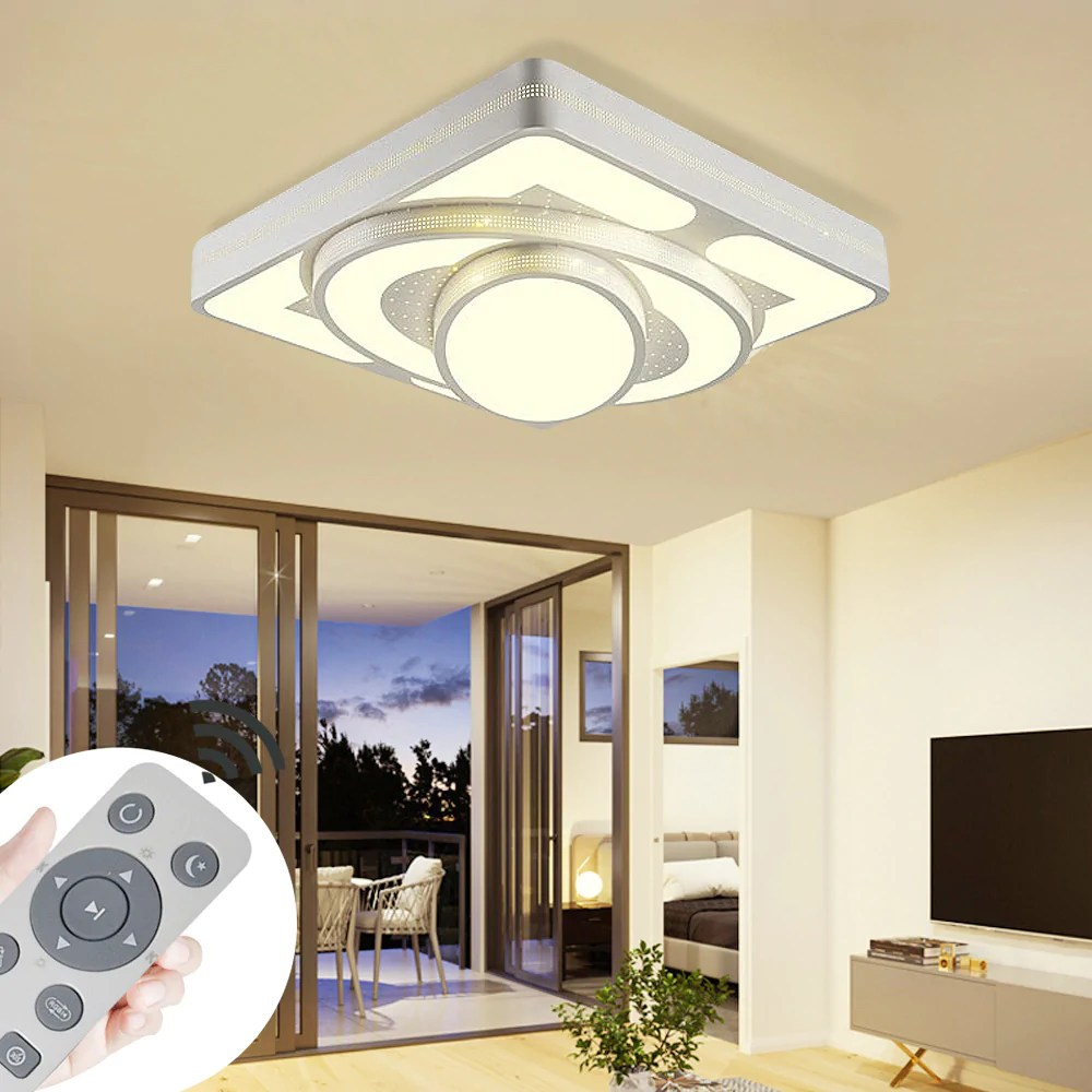 Wohnzimmer Lampe Led Led Deckenlampe Modern Dimmbar Lampe Ufo