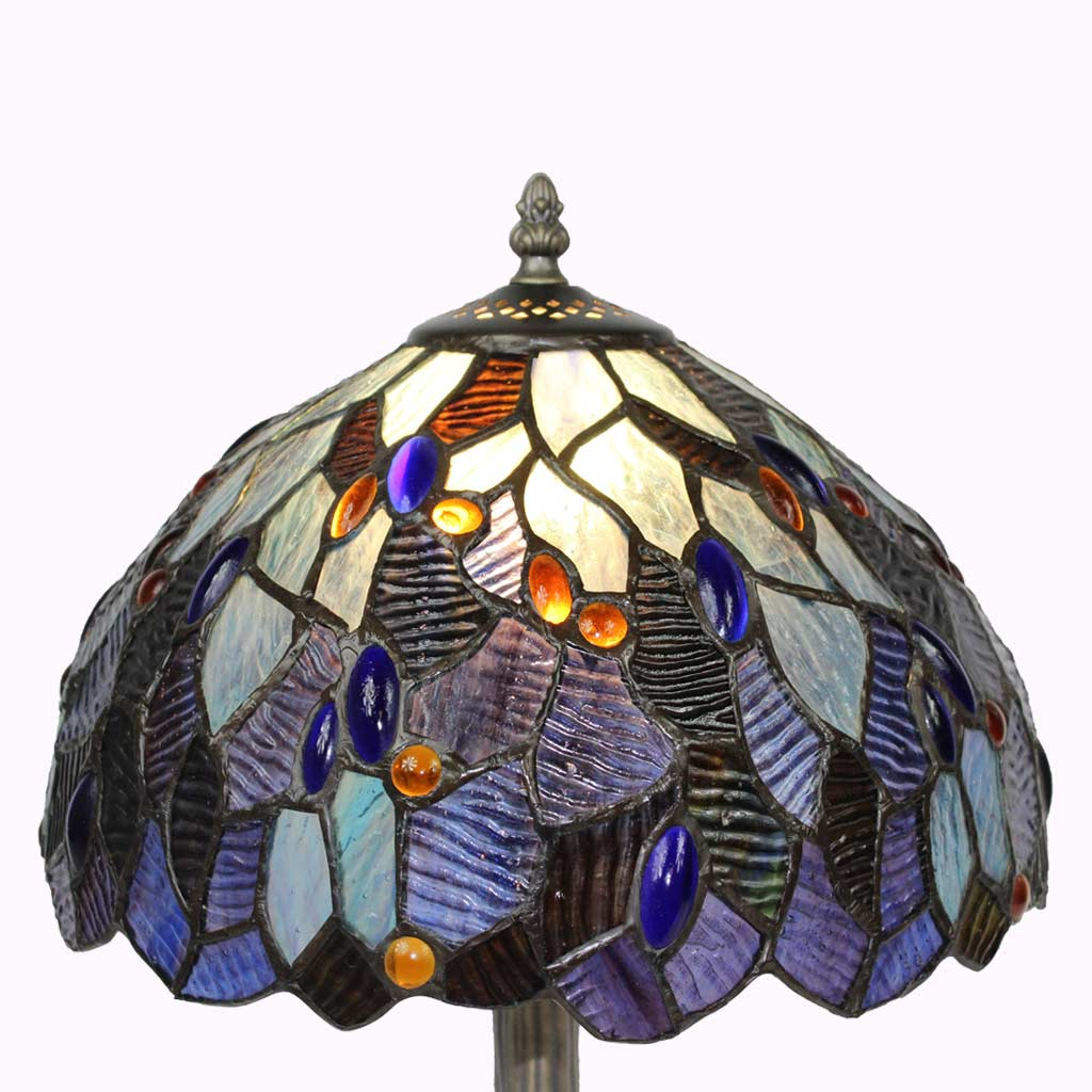 Glass Lamp Tables Ireland Irish Gifts For The Home Large Fairy Pool Tiffany Table Lamp