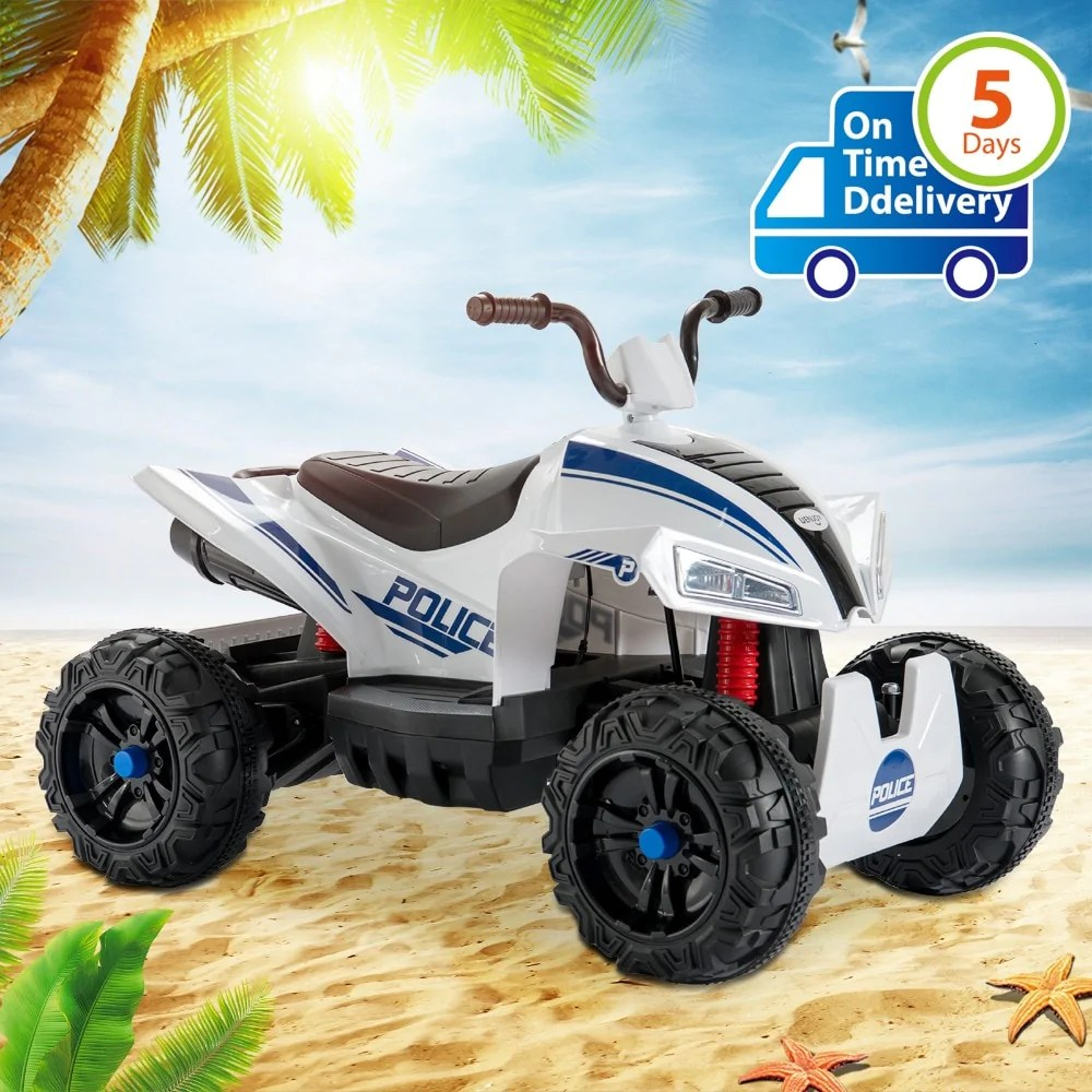 12v Led Quad Ride On Electric Atv For Kids Kidridz