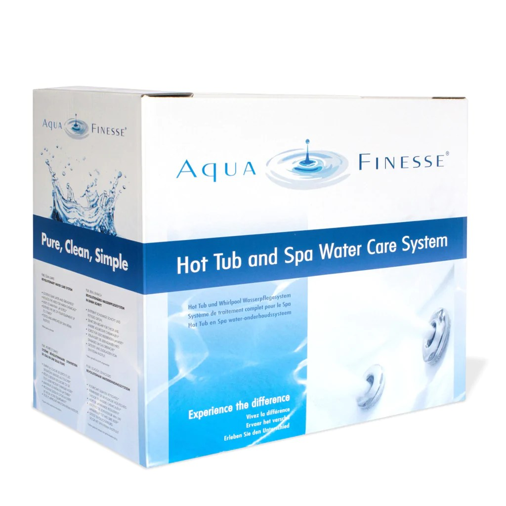 Jacuzzi Whirlpool Unterschied Aquafinesse Pack Tablets