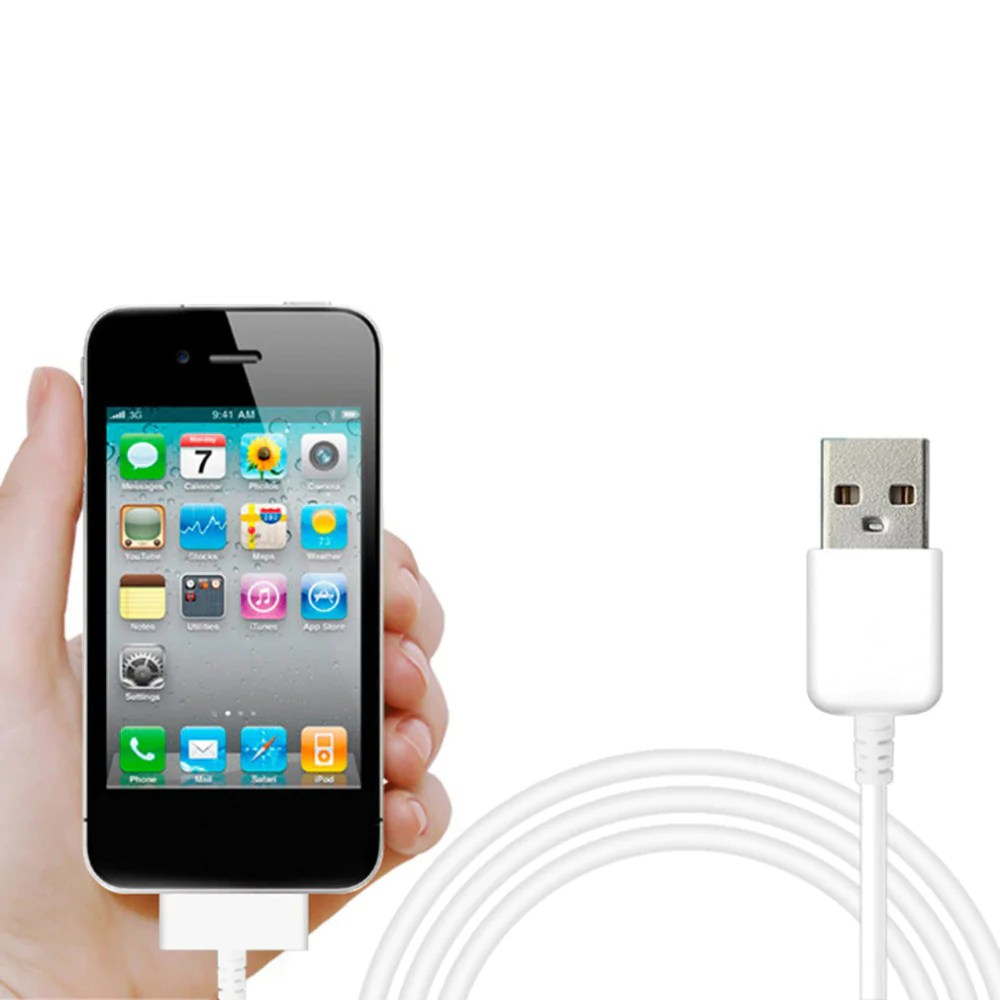 Iphone 3gs Usb Data Charger Cable For Ipad 3 Ipad 2 Ipad Iphone 4 4s Iphone 3gs Ipod Touch