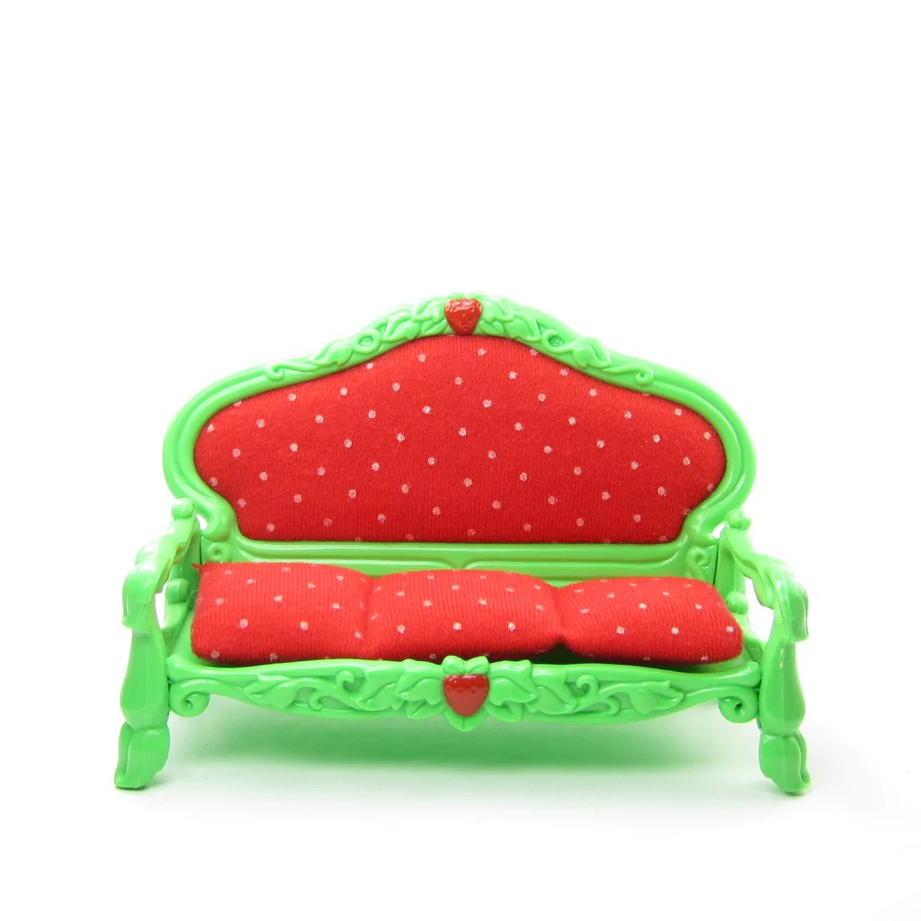 Sofa Vintage A Vendre Berry Happy Home Dollhouse Brown Eyed Rose
