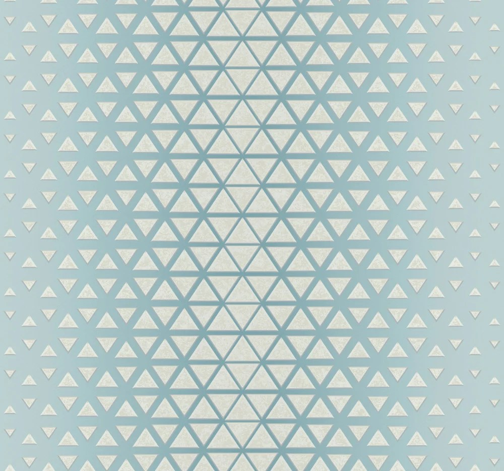Rhythmic Wallpaper In Blue From The Candice Olson Journey Collection B Burke Decor