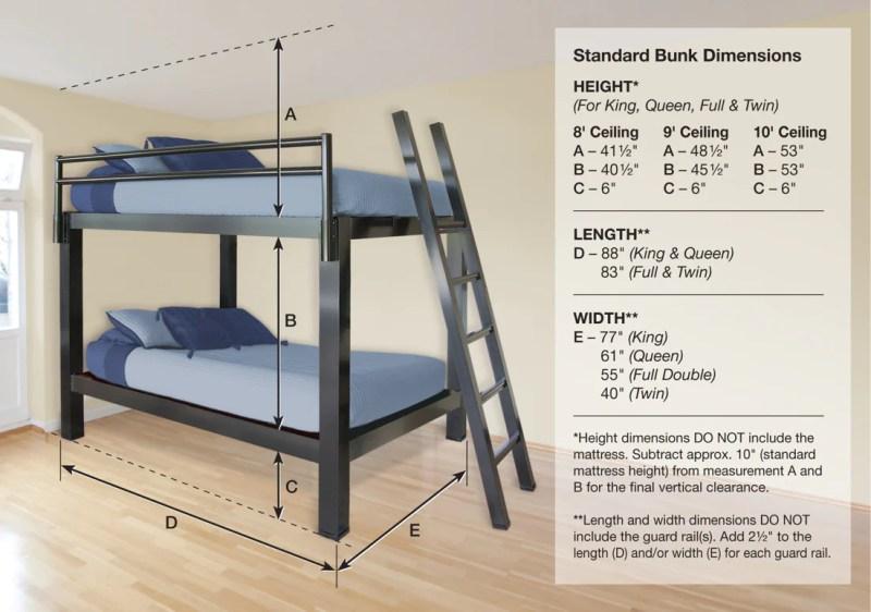 Large Of Queen Over Queen Bunk Bed