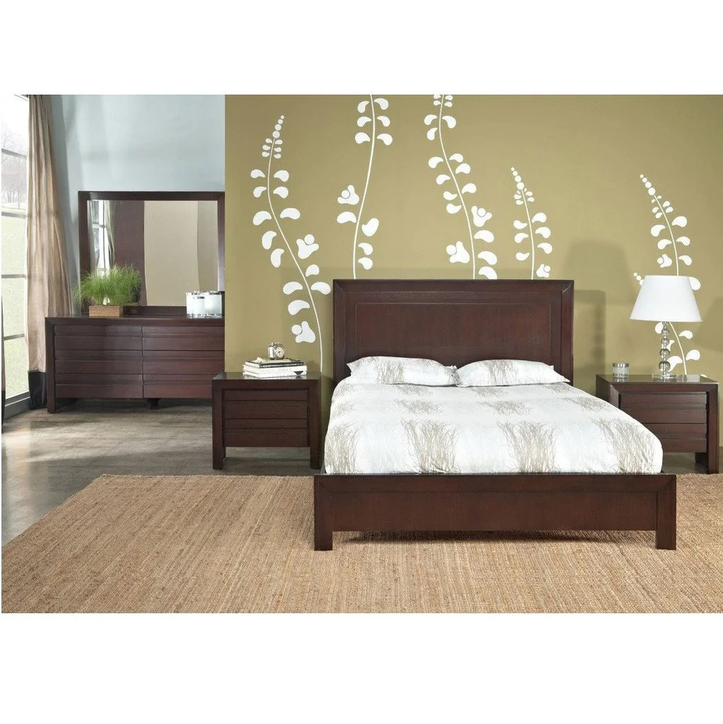 Buy Teak Wood Bed Online India Buy Teak Wood Bed With High Headrest - Chaumont Online In