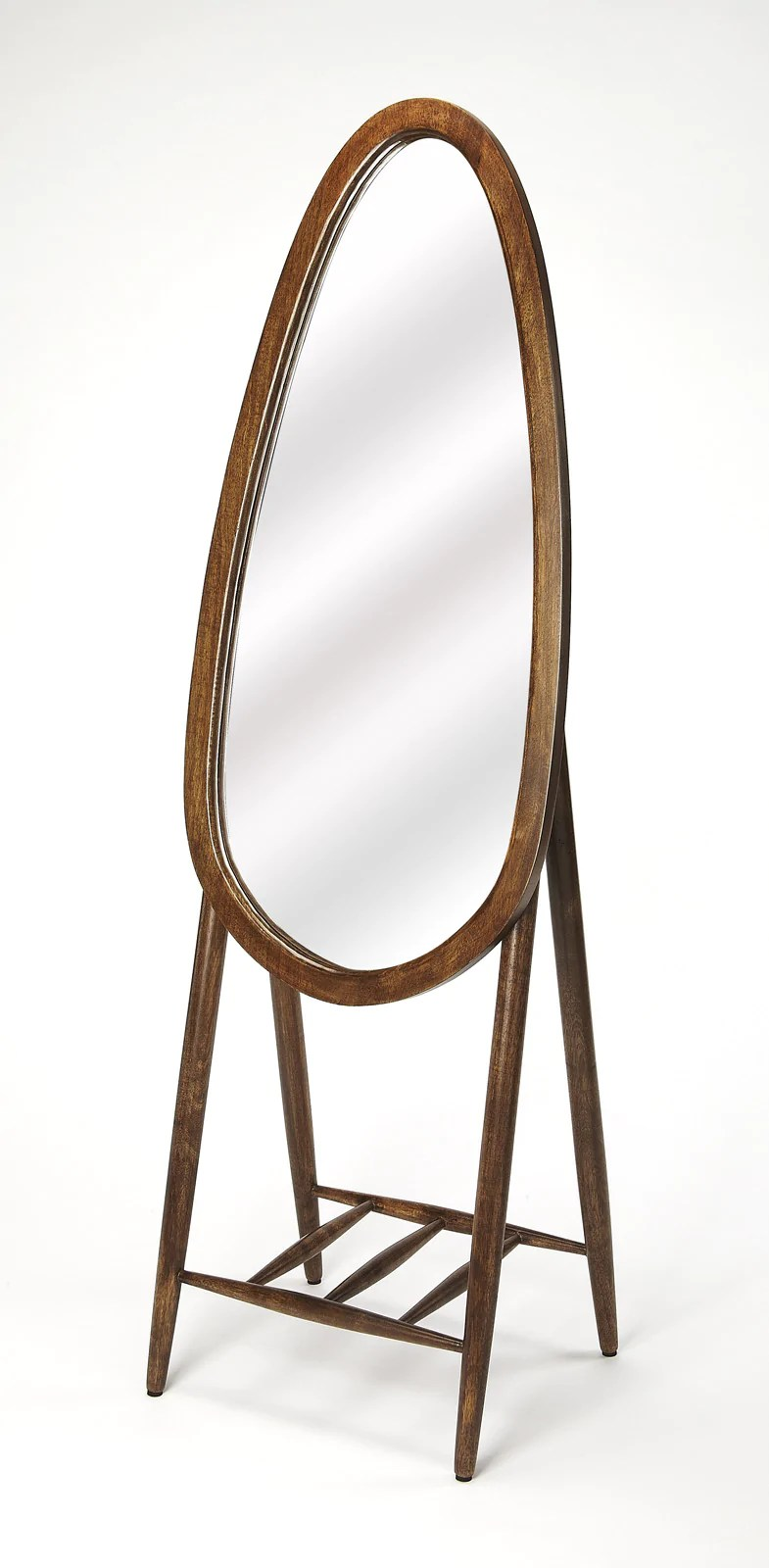 Standing Mirror Buy Butler Furniture But 4442140 Bowen Oval Floor Standing Mirror At Contemporary Furniture Warehouse