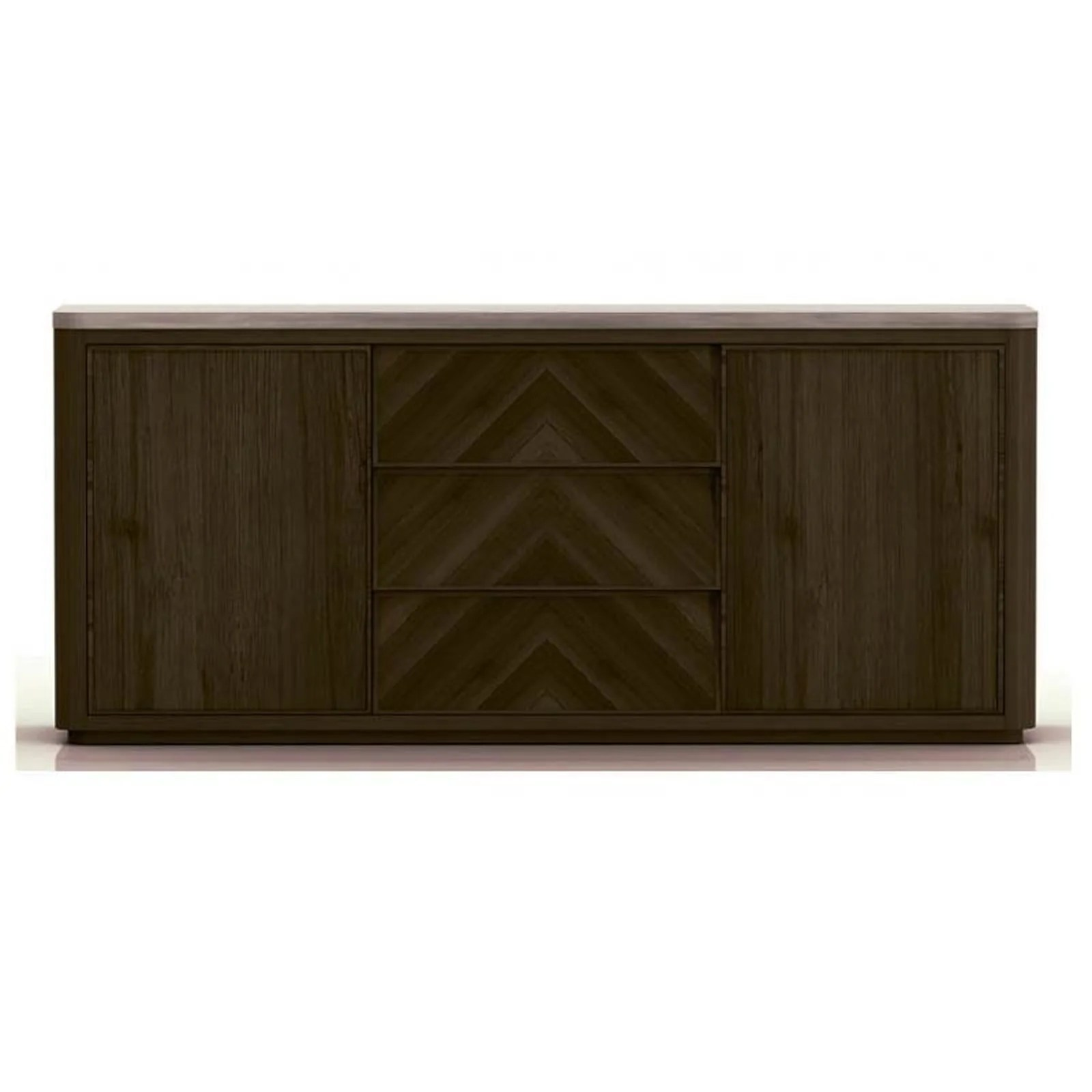 Sideboard Buffet Espresso Apex Buffet Cinder Brushed Acacia Slate Grey Sealed Concrete