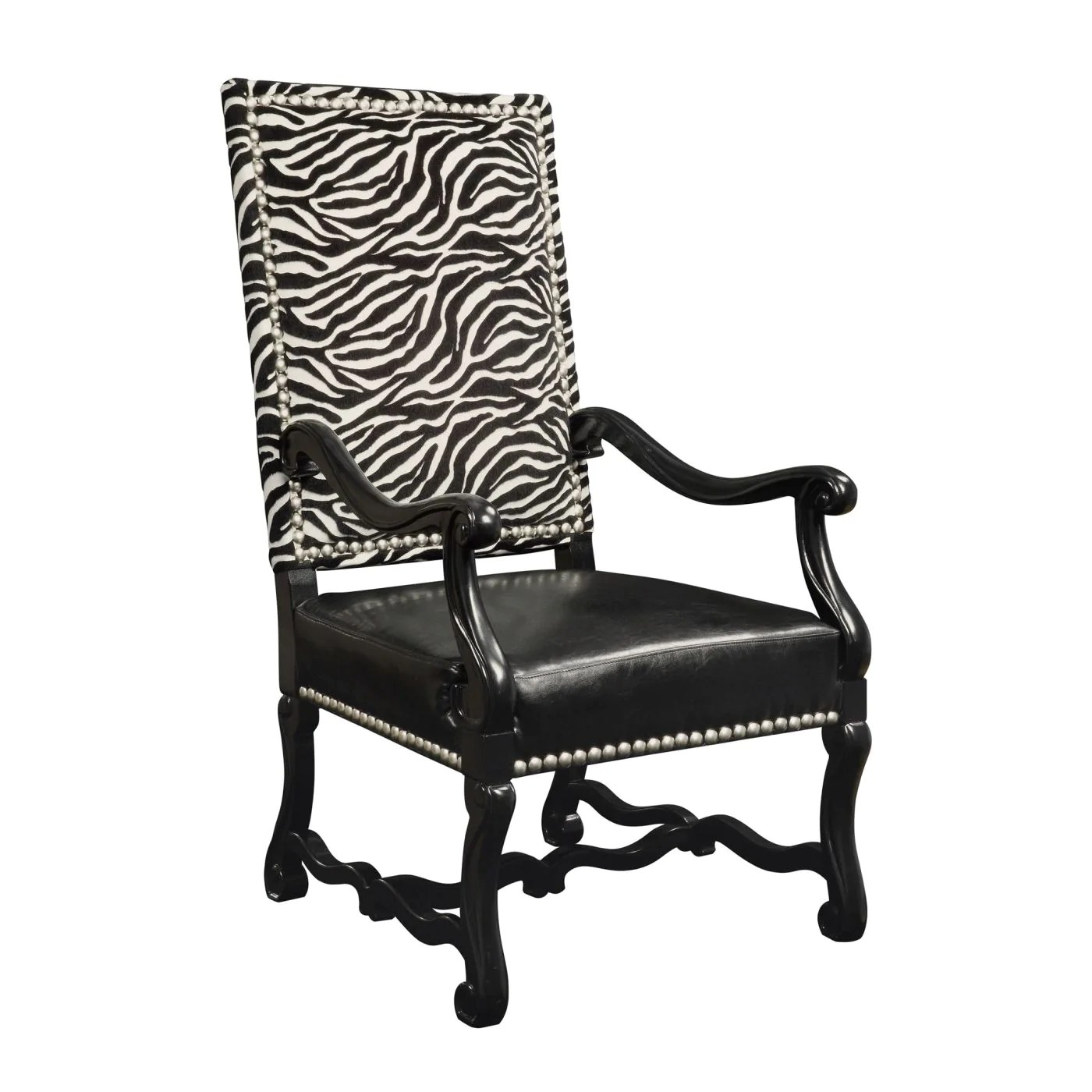 Black And White Accent Chair Wallace Chair Black White