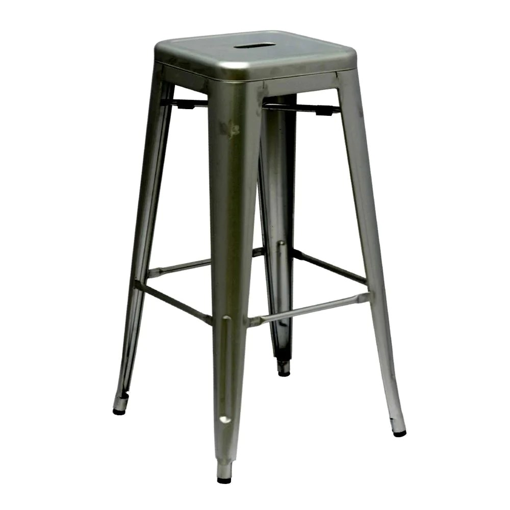 Bar Stool Chairs Unbeatable Price On Fine Mod Imports Tolix Style Bar Stool Gunmetal At Contemporary Furniture Warehouse Fmi10015 30 Gunmetal