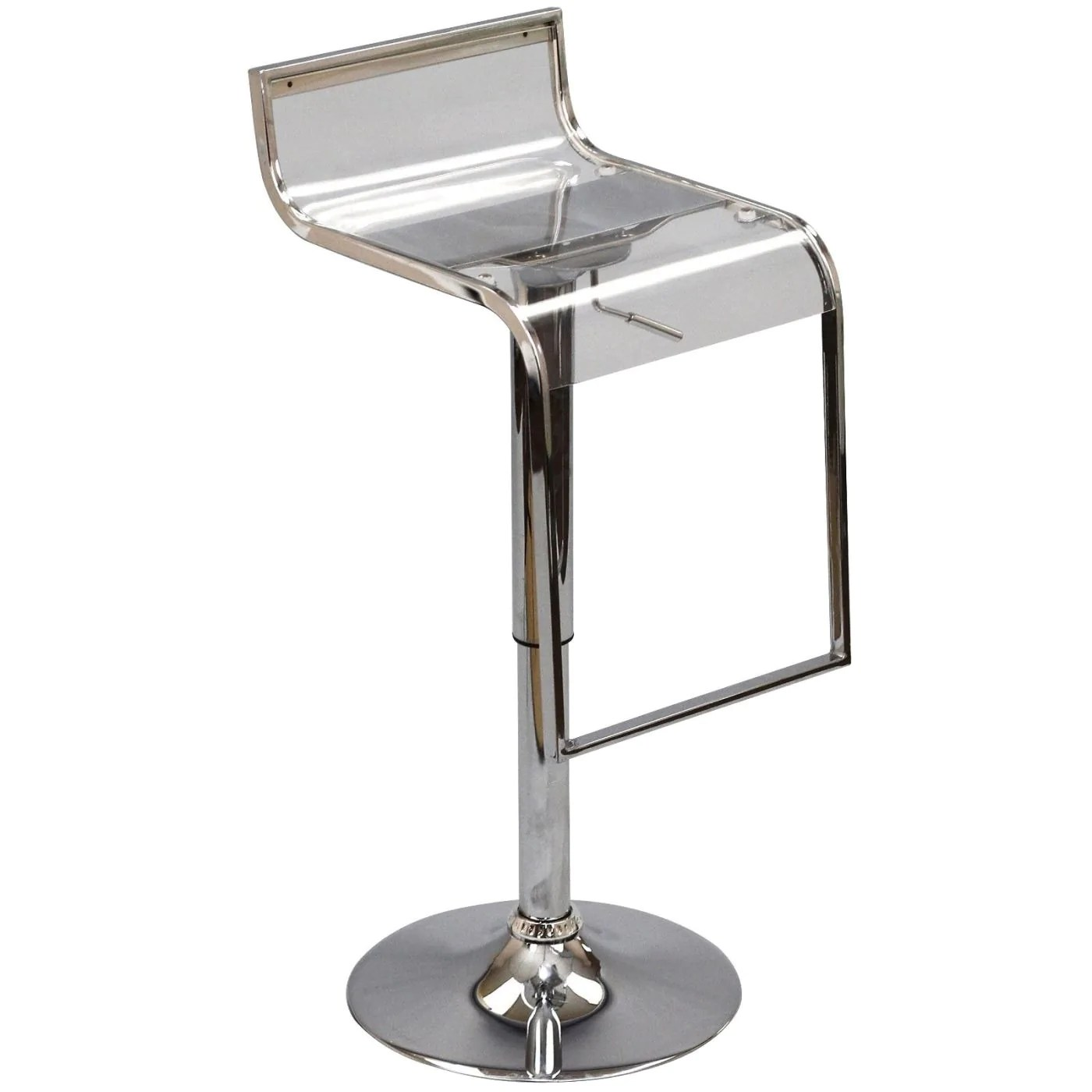 Bar Stools For Sale Modway Bar Chairs On Sale Eei 535 Clr Lem Acrylic Bar Stool Only Only 90 75 At Contemporary Furniture Warehouse