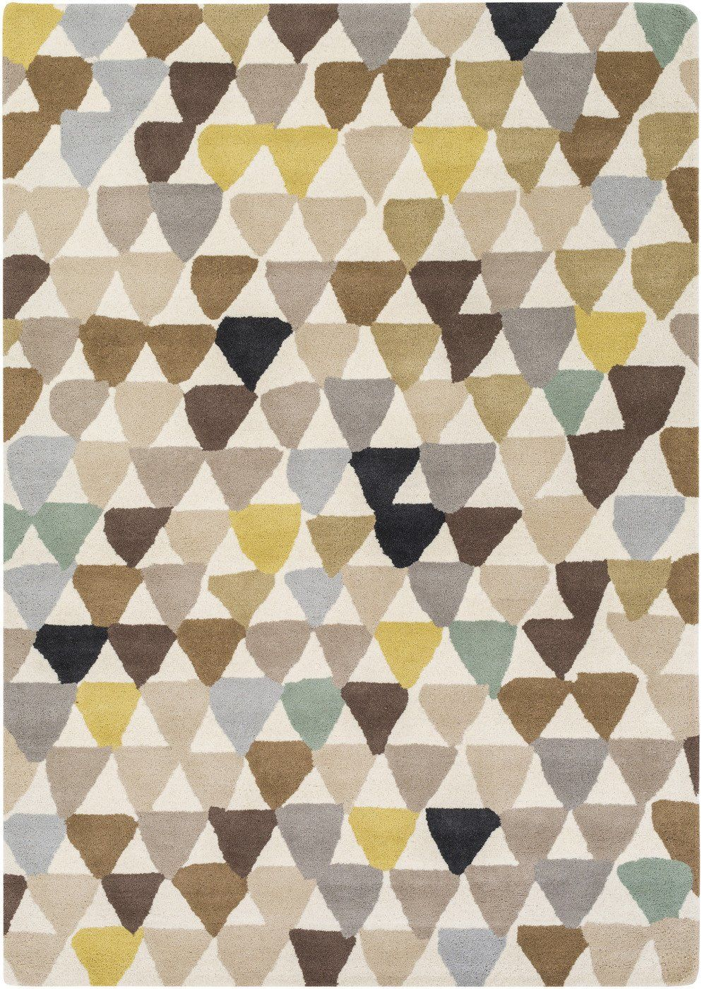 Hessian Rugs Surya Blowout Sale Up To 70 Off Hql8035 58 Harlequin Geometric Area Rug Yellow Neutral Only Only 876 60 At Contemporary Furniture Warehouse