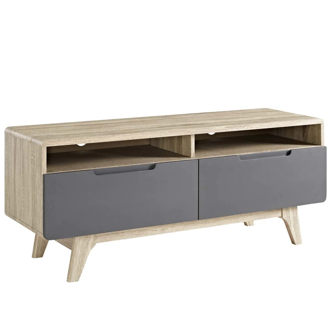 Tv Sideboard Modern Modway Entertainment Stands On Sale Eei 2533 Nat Gry Origin 47