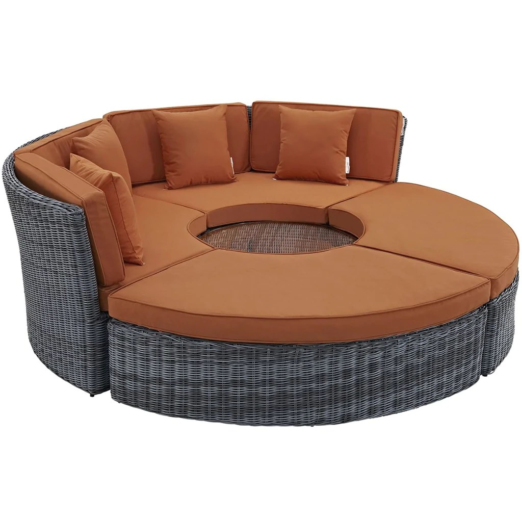 Outdoor Daybeds For Sale Modway Outdoor Daybeds On Sale Eei 1995 Gry Nav Set