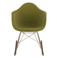 Nye Koncept Mid Century Rocker Chair Avocado Green at ...